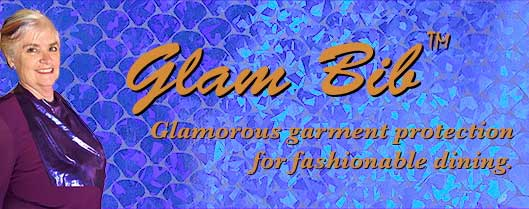 Glam Bib purple