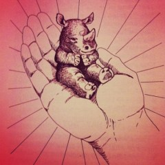 rhinoceros in God's hand