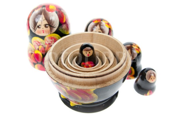 Russian dolls Babushka