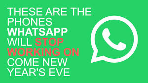 Your WhatsApp may be closed in the new year
