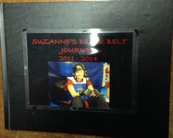 suzanne black belt poster cobourg tae kwon do