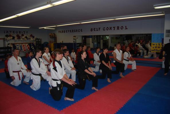 black belt grading 2014 cobourg tae kwon do