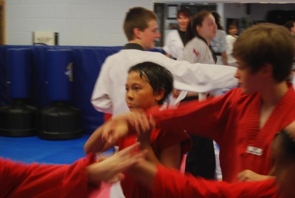 0227 black belt grading 2014 cobourg tae kwon do