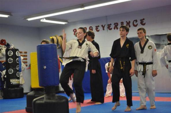 six 2014 black belt grading cobourg tae kwon do