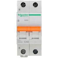Автоматический выключатель Schneider Electric Домовой 1P+N 40А (C) 4.5кА