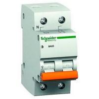 Автоматический выключатель Schneider Electric Домовой 1P+N 50А (C) 4.5кА