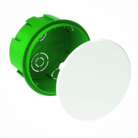 Коробка Schneider-Electric Распределительная сплошных стен 100x50