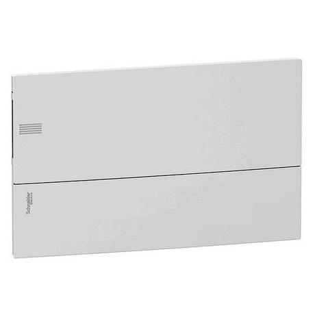 Распределительный шкаф Schneider Electric MINI PRAGMA 18 мод., IP40, встраиваемый, пластик, белая дверь, с клеммами