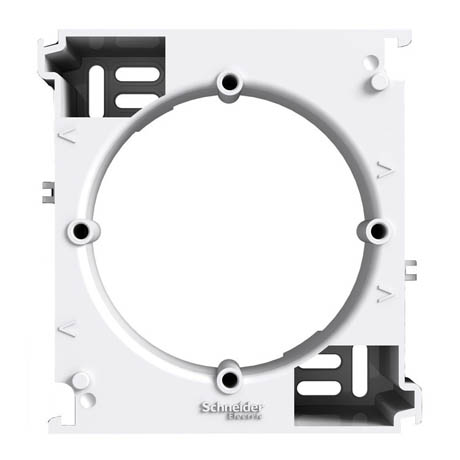 Коробка Schneider-Electric Asfora для наружного монтажа (набор) белая