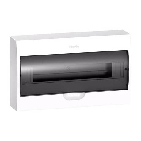 Распределительный шкаф Schneider Electric Easy9, 18 мод., IP40, навесной, пластик, прозрачная дверь
