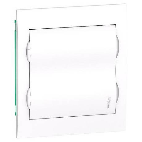 Распределительный шкаф Schneider Electric Easy9 24 мод., IP40, встраиваемый, пластик, белая дверь, с клеммами