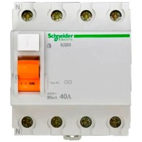 УЗО Schneider Electric Домовой 4P 40А 30мА (AC)