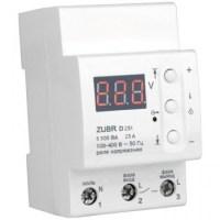 Реле контроля напряжения DS Electronics ZUBR 25A c термозащитой