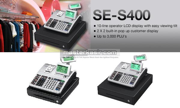 CASIO SE-S400 masterkasir.com