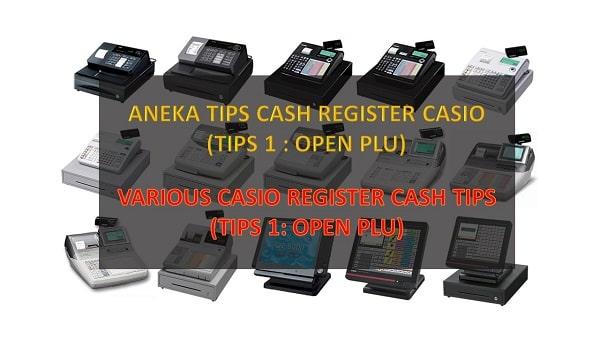 Cara program open plu atau open price casio se-s400
