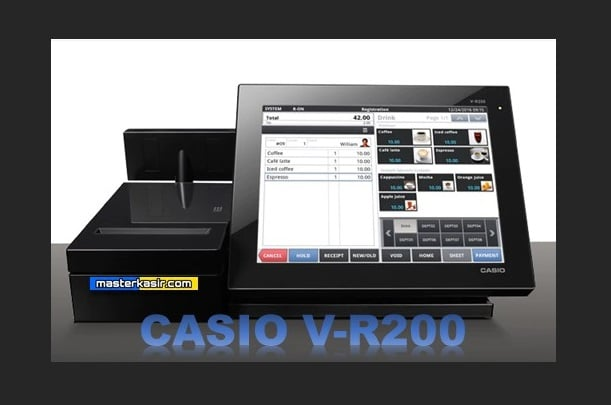 Mesin Kasir Android CASIO V-R200