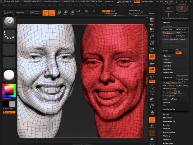 ZBrush 4 R6 Crack Free download
