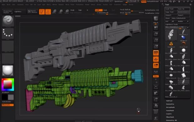 ZBrush 4R7 Keygen Download