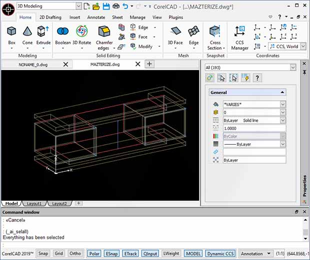 CorelCAD Product Key Full Version
