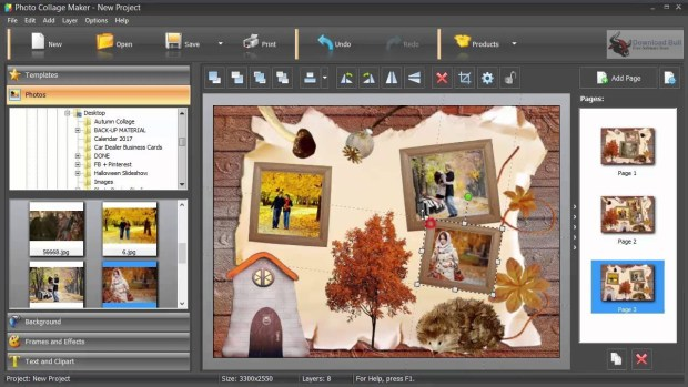 AMS Software Photo Collage Maker key