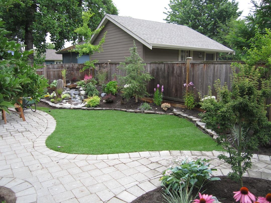 Small Backyard Makeover | SRP Enterprises' Weblog on Small Backyard Garden Design id=62274