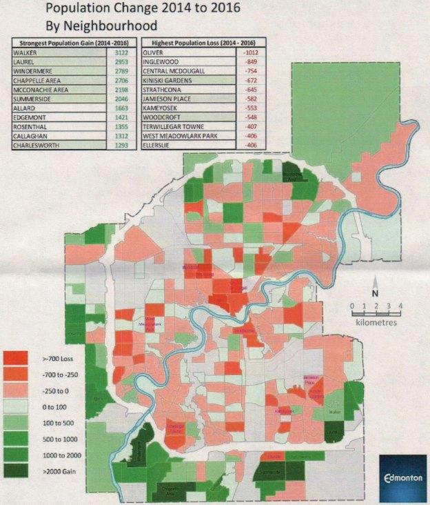 2016 census by neighbourhood