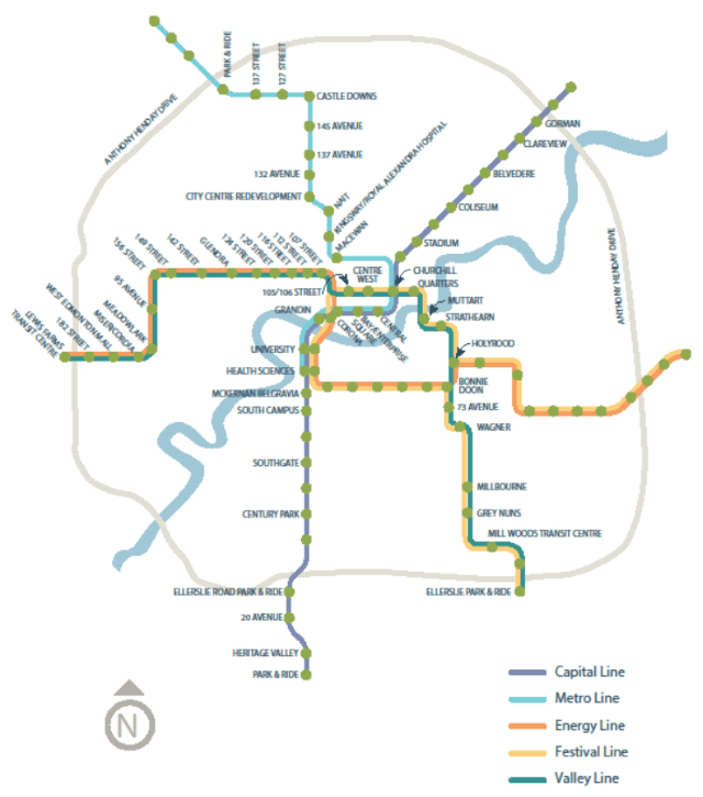 LRT Network Plan
