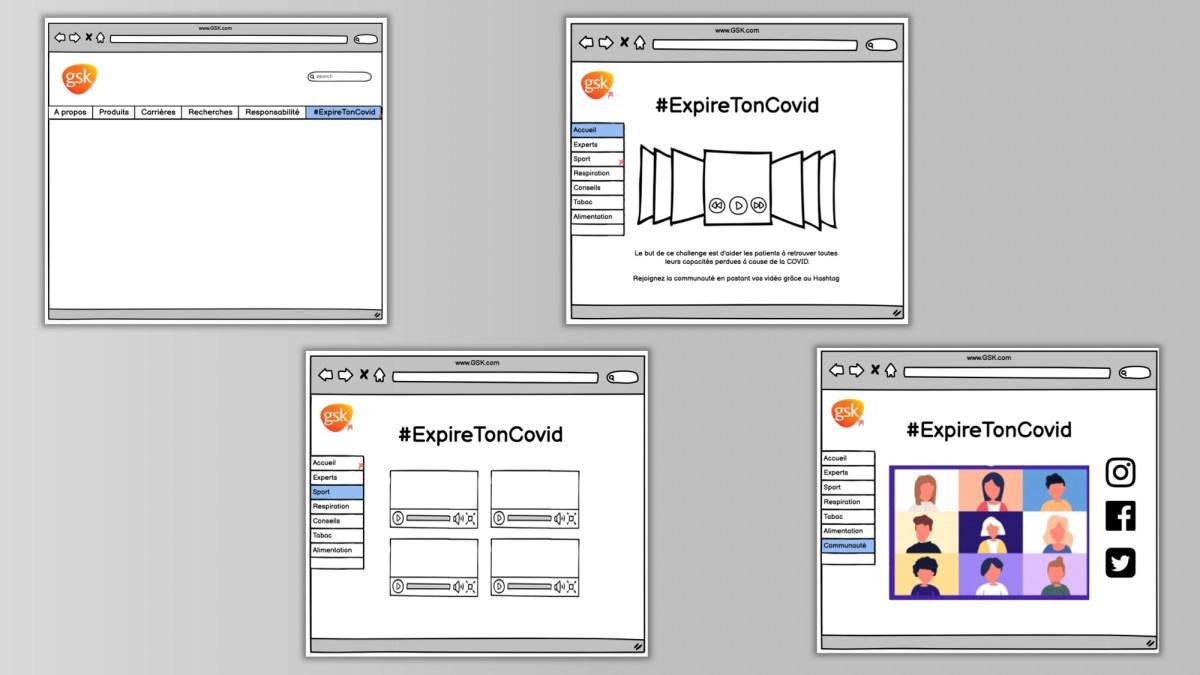 Exemple mockup projet digital 3 prime