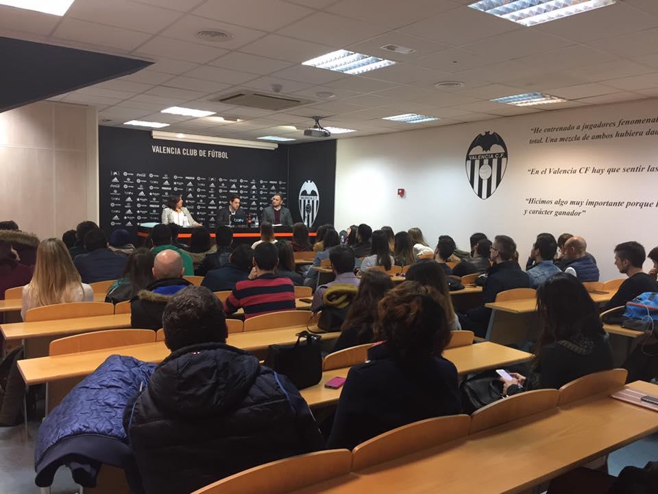 Sala de prensa del Valencia CF