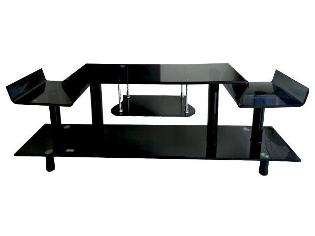 table tv 824 118 41 15cm noire