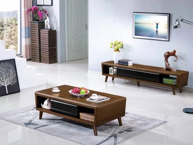 meuble tv t603 23 5 43 5 30cm table basse a603 133 73 30 marron noir