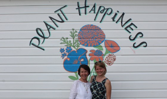 Sally and I are so thankful to Kat Hartley for our making of al mural dreams come true!