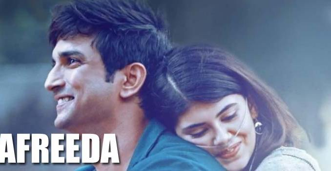 Afreeda Lyrics from Dil Bechara