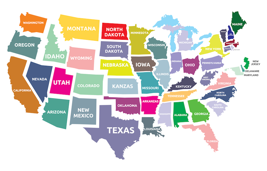 Image result for US States