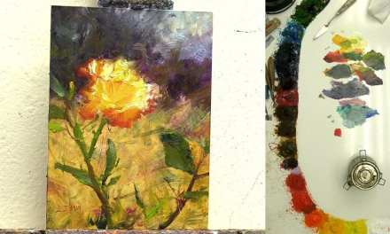 How to Paint Yellow Roses in 10 Steps