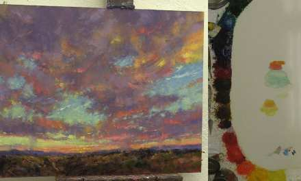 7 Steps to Paint a Rocky Mountain Sunset