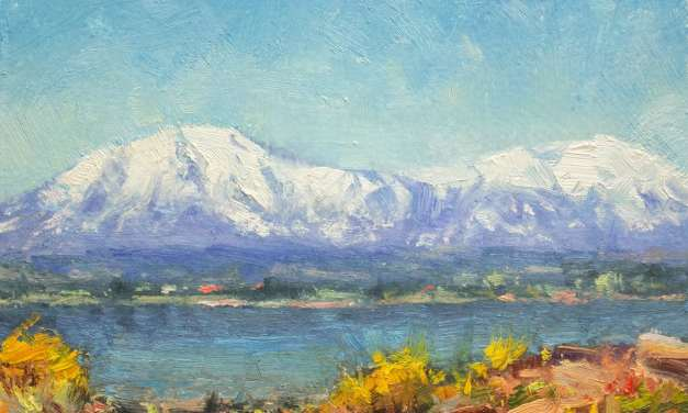 9 Steps to Paint the Spanish Peaks