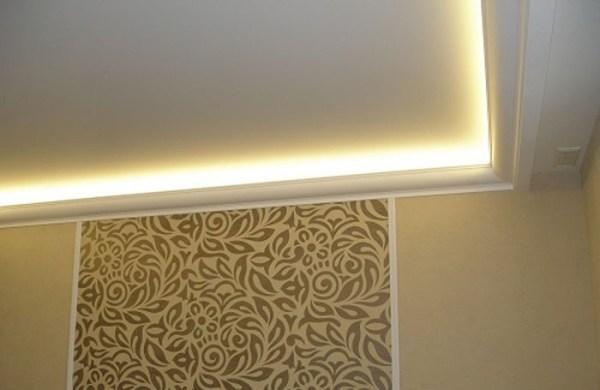 Установка светодиодной ленты на потолок своими руками ...