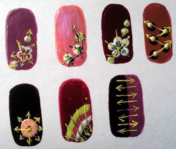 Как рисовать на ногтях перо – фото инструкция и идеи ...