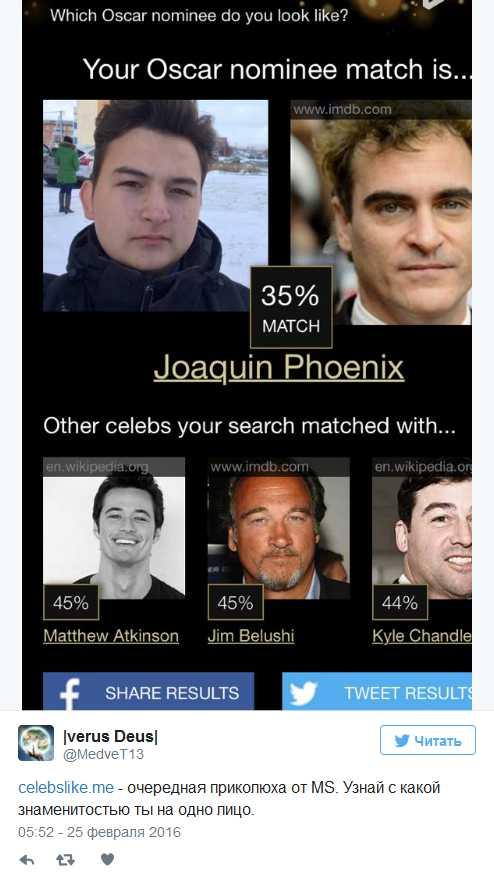 На кого ты похож из знаменитостей по фото тест – Как ...
