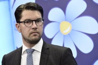 """SD's partiledare Jimmie Åkesson som ofta har pratat om """"det svenska folkhemmet"""" men med en annan typ av innebörd än vad som annars har funnits i det begreppet"""