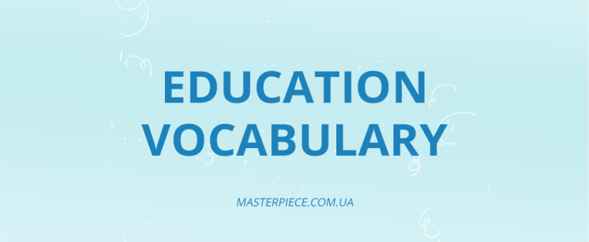 TOP 19 Education Vocabulary