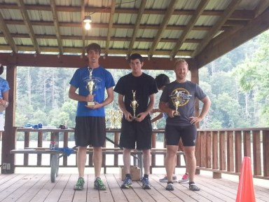 Jacob Haynes 1:52:35, Kevin Jarvis 1:56:53, Dustin Shaw 2:03:06