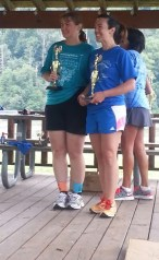 2nd place Female Team Emily Martin and Sharon Nance