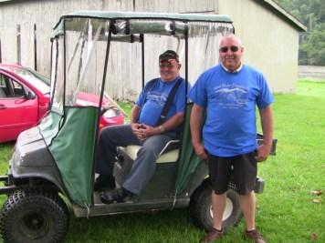 Carroll Dean Hines, Volunteer and David Isom, Sponsor