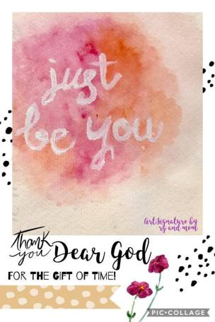 Just Be You 01