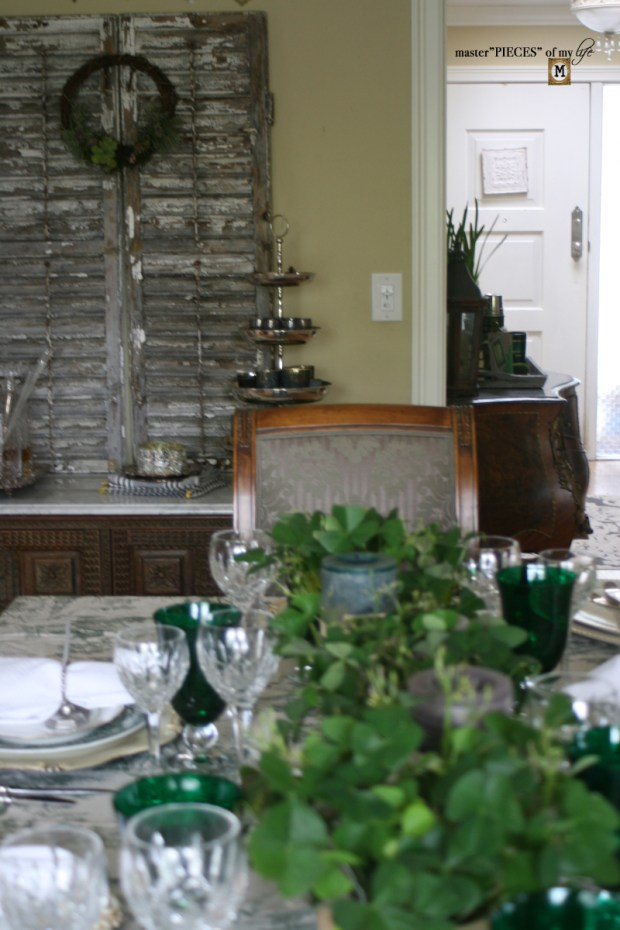 St Patricks celebaration tablescape10