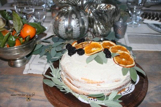 On the menu - orange  naked cake1