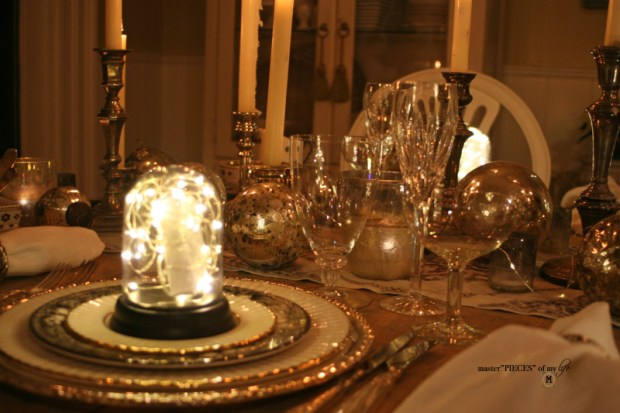 Dazzingly bright new years eve tablescape4