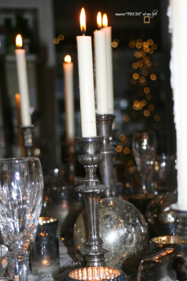Dazzingly bright new years eve tablescape8